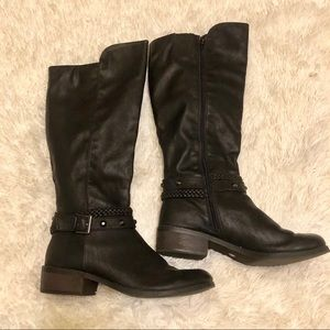 "Arizona ""Candor"" Black Boots, size 9M"
